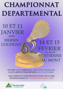 AFFICHE CODEP CHAMP DEP5.... mini